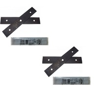 2 X  GENUINE ATOM EDGER BLADE SETS   43105