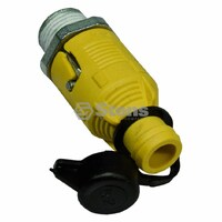 Ride On Mower Easy no mess Oil Drain Valve fits most Kohler, Briggs Tecumseh OEM 186071GS