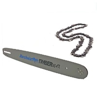 "ARCHER 12"" BAR AND CHAINSAW 44DL 3/8 LP 050 FOR HUSQVARNA 136 137 141 235"