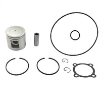 + 020 PISTON AND RING KIT FOR VICTA P/T  MOTORS INCLUDES O'RINGS