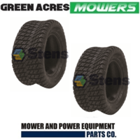 2 x TYRES 18 x 850 x 10 FOR RIDE ON MOWERS