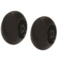 "2 X 5""  DECK WHEELS FOR SELECTED  HUSQVARNA , MURRAY , JOHN DEERE RIDE ON MOWERS"