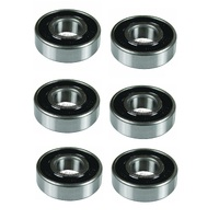 6 X SPINDLE BEARINGS FOR SELECTED JOHN DEERE RIDE ON MOWERS GX20818 JD8535
