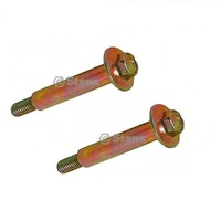 2 x Wheel axle Shoulder Bolt Husqvarna MTD John deere  532193406 938-3056 M84691