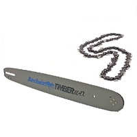 "ARCHER CHAINSAW CHAIN AND BAR 24"" 84DL 3/8 050 FITS SELECTED ECHO CHAINSAWS"