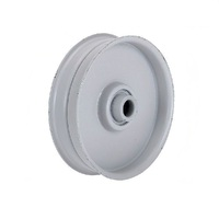 FLAT IDLER PULLEY FOR SELECTED MTD MOWERS 756-04224 , 756-0981 ,