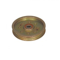 RIDE ON MOWER HEAVY DUTY FLAT IDLER PULLEY FOR SELECTED TROY BILT MOWERS 17562354