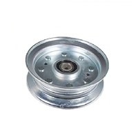 FLAT IDLER PULLEY FIT SELECTED MURRAY RIDE ON MOWERS 490118MA , 490118