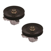 "2 X RIDE ON MOWER SPINDLE ASSY FITS SELECTED  50"" CUT CUB CADET MTD   618-05016"