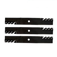 "1 SET OF 60"" GATOR STYLE TOOTHED BLADES FITS TORO RIDE ON MOWERS 105-7718-03"