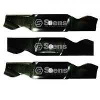 "BLADE SET FITS SELECTED 46"" CUT CUB CADET RIDE ON MOWERS  759-3819 , 742-3818"