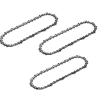 "3 X NEW CHAINSAW CHAIN 10"" 40 3/8LP .050 SUITS BAUMR-AG SX25 WITH 10"" BAR PRO CHAIN"