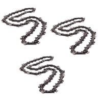 3 x CHAINSAW CHAIN FITS 76 325 058 20 inch BAR BAUMR & RAIDEN  SX 62 ,  AG 6200