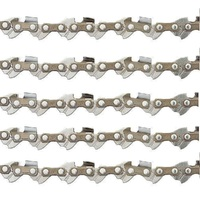 "5 x CHAINSAW CHAIN FITS 12"" BAR  STIHL McCULLOCH  44 3/8LP .050"