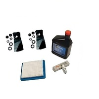 MASPORT LAWNMOWER BLADES & SERVICE KIT FOR 3.5 - 6HP QUANTUM BRIGGS AND STRATTON