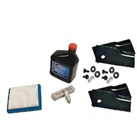 BLADES & SERVICE KIT FOR SELECTED ROVER LAWNMOWER 3.5 TO 6.5 HP BRIGGS  QUANTUM