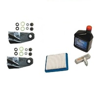 "LAWN MOWER BLADES & SERVICE KIT FOR VICTA 19"" MOWERS WITH BRIGGS QUANTUM MOTORS"