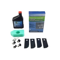 ROVER LAWN MOWER BLADES & SERVICE KIT FOR 3.5 TO 4.75 HP BRIGGS & STRATTON
