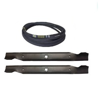 "BLADE & BELT KIT FOR SELECTED 38"" CUT LT1597  LTH1797 LT19538 HUSQVARNA MOWERS"