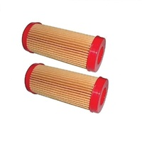 2 X AIR FILTER FOR VICTA LAWNMOWER SHORT FILTER  AF07276 , AF07276A