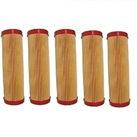 5 X LONG AIR FILTER FOR VICTA LAWNMOWER - 5 PACK  AF07282A