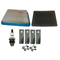 "18"" ROVER LAWNMOWER SERIVCE KIT FOR BRIGGS AND STRATTON QUATNTUM MOTORS 491588s A01118/627K"