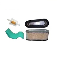 RIDE ON MOWER AIR & FUEL FILTER KIT FOR BRIGGS MOTORS WITH FUEL PUMP 496894s