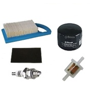 Air Filter , Fuel Filter , Oil Filter & Champion Spark Plug Kit Fits Briggs 797007
