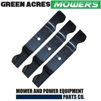 "BLADE SET FITS SELECTED 54"" CUT CUB CADET RIDE ON MOWERS  759-3820 , 742-3013"