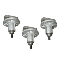 3 X BLADE SPINDLE ASSEMBLY FOR SELECTED L SERIES JOHN DEERE GY20050 , GY20785