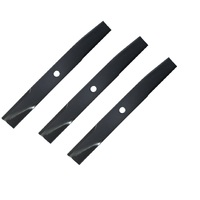RIDE ON MOWER BLADE SET FOR 48 INCH KUBOTA MOWERS 76500-34330