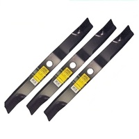 RIDE ON MOWER BLADE SET FITS SELECTED 72 INCH KUBOTA  K5677-34340  K5371-34340