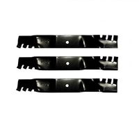 MULCHING BLADE SET FITS SELECTED 52 INCH TORO MOWERS GATOR PREDITOR TYPE