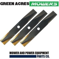 RIDE ON MOWER BLADE SET FOR SELECTED 42 INCH TORO MOWERS  106636  106077  117192