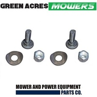 BLADE BOLT KIT FOR COX RIDE ON MOWERS SKIT01D1