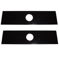2 X EDGER BLADE FOR RYOBI ,  STIHL , TALON , HUSQVARNA , ECHO & SHINDAIWA EDGERS