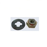 BLADE DISC CARRIER WASHER & NUT FOR VICTA 70 & 80 SERIES MOWERS