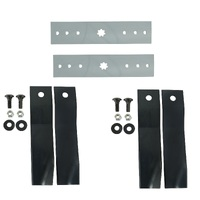 "SWING BACK BLADE CONVERSION KIT FOR 38 & 42"" CUT JOHN DEERE MOWERS 7 POINT STAR"