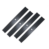 4 X RIDE ON MOWER BLADE SET FOR 38 INCH ZTR TORO MOWERS 79-3061 , 14-7799 , 79-3060