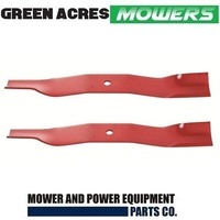 HI LIFT BLADE SET FOR 38 INCH TORO RIDE ON MOWER 57-4700