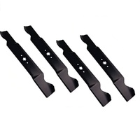"2 Set of 42"" Blades For  MTD Mowers 6 Point Star 4 Blades 942-0647 , 742-04126"
