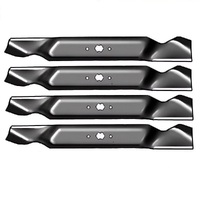 "2 SETS 38"" BLADES MTD MOWER FITS 6 POINT STAR 942-0654 TOUGH HARDERNED STEEL x 4"