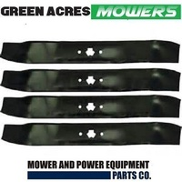 2 SETS OF 38 INCH MULCHING BLADES FOR MTD RIDE ON MOWER 1992 ONWARDS 942-0610A