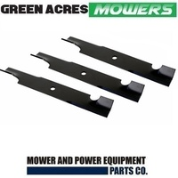 "1 SET OF 60"" HI LIFT BLADES FITS SELECTED TORO RIDE ON MOWERS 105-7718-03"