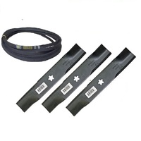 BLADE & BELT KIT FOR 42 INCH CUT HUSQVARNA YTH2242TDF YTH2242TDRF MOWERS