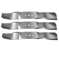 5  X MULCHING BLADES SETS FOR 44 INCH FOR HUSQVARNA RIDER - RIDE ON MOWER