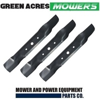 RIDE ON MOWER BLADE SET FOR SELECTED 48 INCH JOHN DEERE MOWERS