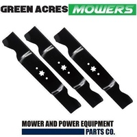 54 INCH MTD RIDE ON MOWER BLADE SET  742-0677 , 942-0677