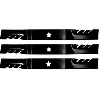 "1 SET OF 52"" GATOR  MULCHING BLADES FOR HUSQVARNA MOWERS GHT2752TF GTH3052TF"