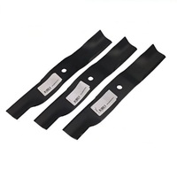 "RIDE ON MOWER BLADES FOR SELECTED ARIENS GRAVELY 44"" AND 48"" CUT 00450200"
